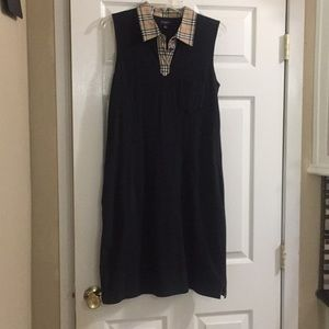 beautiful burberry golf dress size M